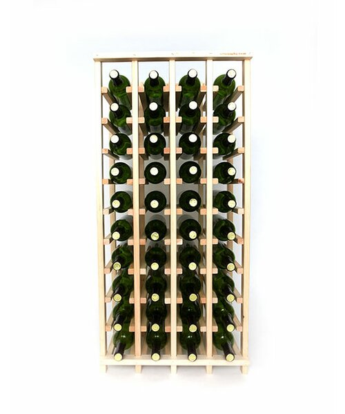 Lurmont Series 40 Bottle Floor Wine Bottle Rack by Rebrilliant Rebrilliant