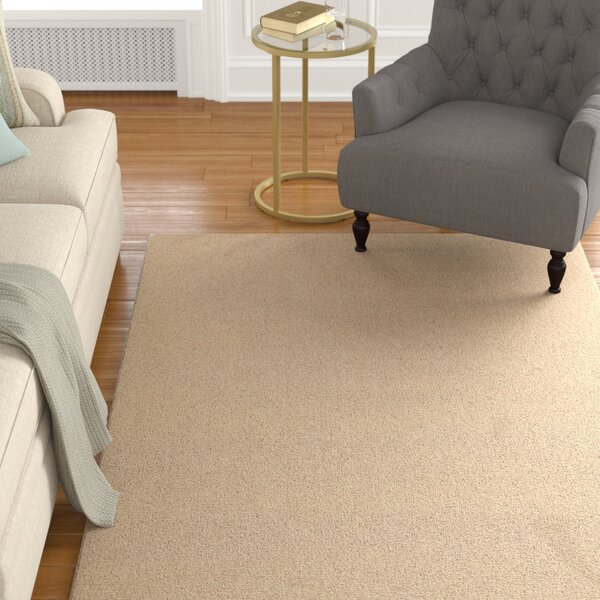 Jute Handwoven Tan Area Rug by Darby Home Co
