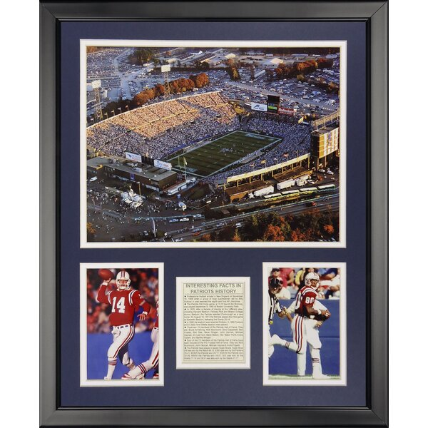 NFL New England Patriots - Foxboro Stadium Framed Memorabili by Legends Never Die