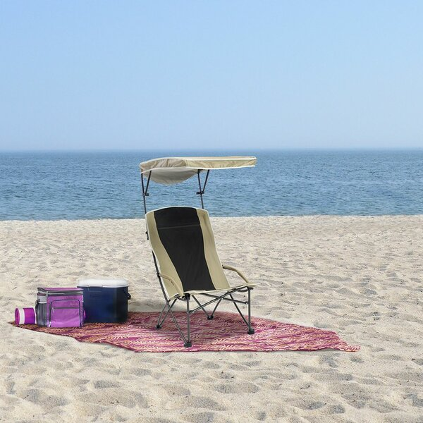 Pro Comfort High Back Folding Beach Chair by Quik Chair Quik Chair