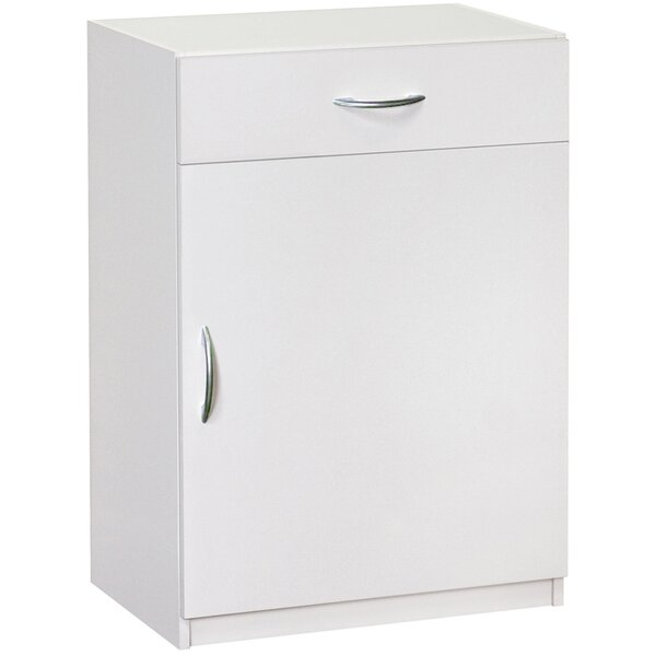 "34.72"" H x 240.2"" W x 15.24"" D Flat Panel Single Door and Drawer Base Cabinet by ClosetMaid"