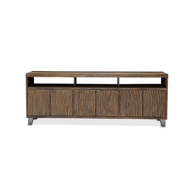 Gisela Solid Wood TV Stand For TVs Up To 88