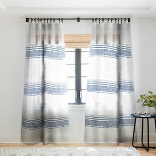 Blue Chambray Curtains
