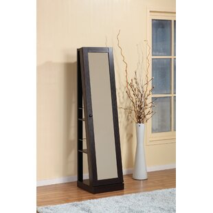 Shop for Kyla Free Standing Jewelry Armoire with Mirror By Alcott Hill