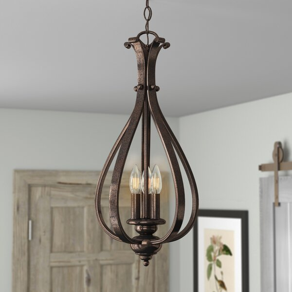 Enfield 3-Light Foyer Pendant by Three Posts