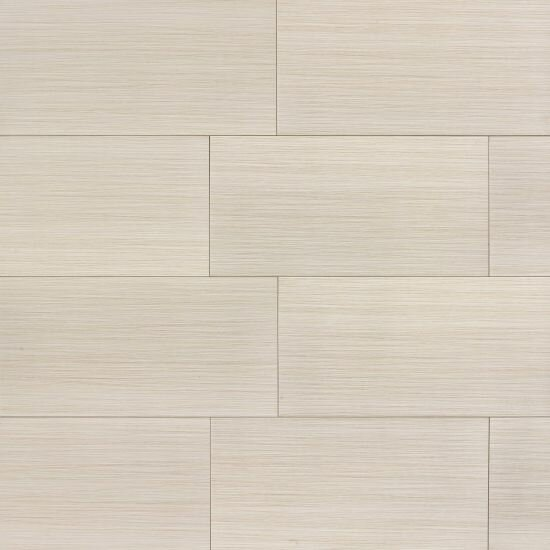 Refined 12 x 24 Porcelain Field Tile in Matte Alabaster by Grayson Martin