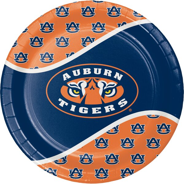 NCAA Dinner Plate (Set of 24) by Creative Converting