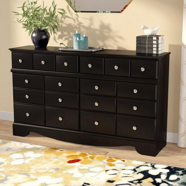 Chittum 6 Drawer Double Dresser by Charlton Home