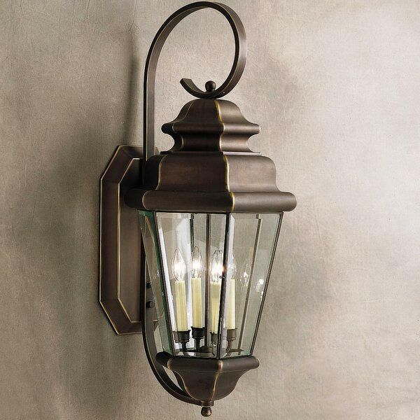 Bigley 4-Light Outdoor Wall Lantern by Darby Home Co
