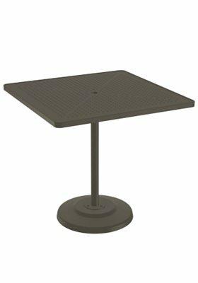 La'Stratta Aluminum Bar Table by Tropitone Tropitone