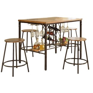 Calla 5 Piece Pub Table Set  sc 1 st  AllModern & Bar Tables + Sets - Modern u0026 Contemporary Designs | AllModern