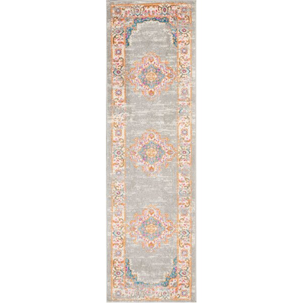 Dorset Gray Area Rug by Mercury Row