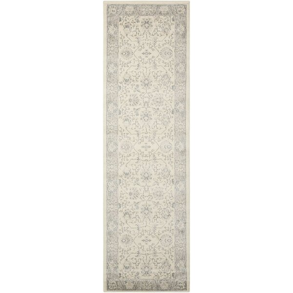 Lamarche Woven Ivory Area Rug by Alcott Hill