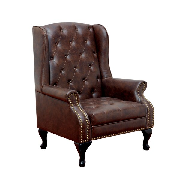 Barnett Wingback Chair by Hokku Designs