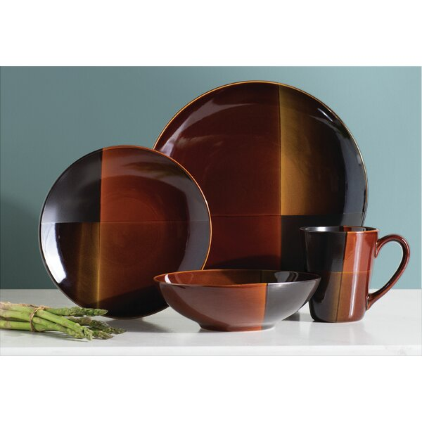 Laurel Valley 16 Piece Dinnerware Set, Service for