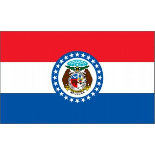 Missouri Traditional Flag by NeoPlex
