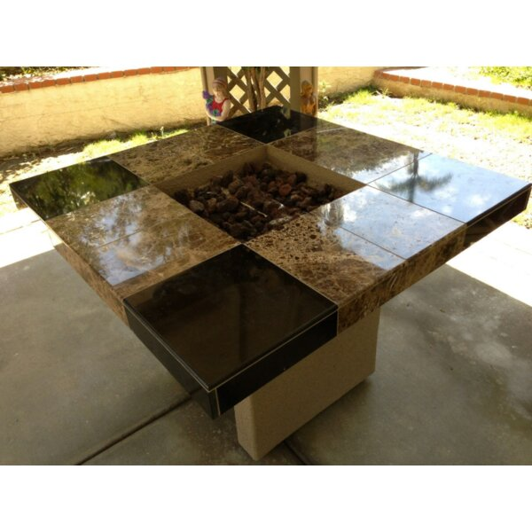 Jamaica Stone Propane/Natural Gas Fire Pit Table by Kokomo Grills