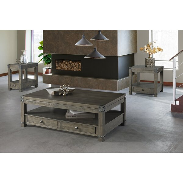 Josephine 3 Piece Coffee Table Set By 17 Stories