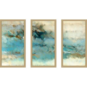 Ecclesiastes 1 14 Max by Mark Lawrence 3 Piece Framed Painting Print Set by Picture Perfect International