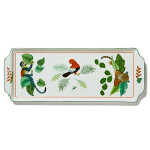 Rainforest Sandwich Rectangle Serving Tray