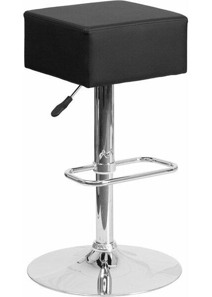 Whelan Backless Adjustable Height Swivel Bar Stool by Orren Ellis Orren Ellis