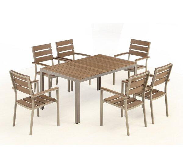Sizemore 7 Piece Dining Set by Brayden Studio