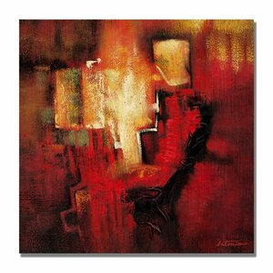 Antonio Abstract II by Antonio Framed Painting Print on Wrapped Canvas by Trademark Fine Art