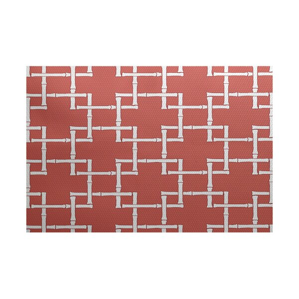 Connelly Coral Indoor/Outdoor Area Rug by Bay Isle Home