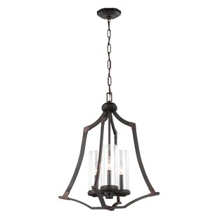 Renfroe 3-Light Lantern Pendant By Three Posts