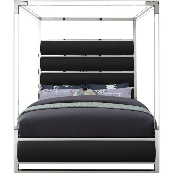 Niviarsiaq Upholstered Canopy Bed by Orren Ellis