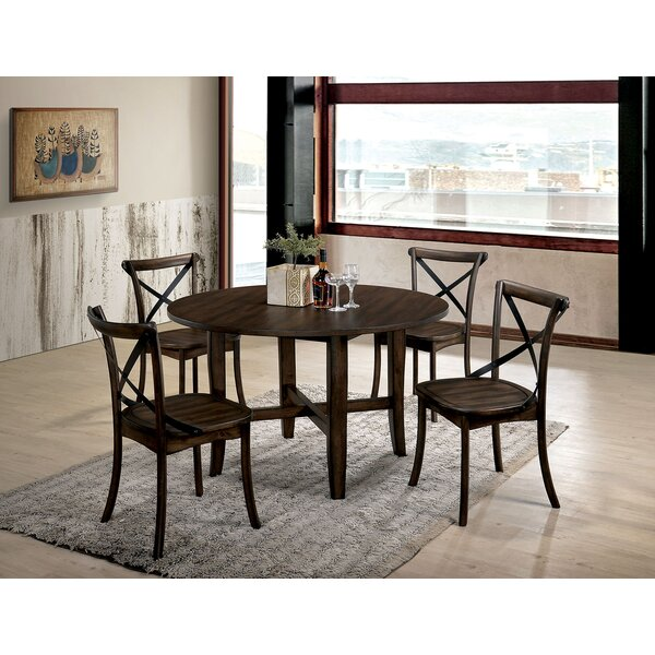 Marston 5 Piece Extendable Dining Set by Gracie Oaks
