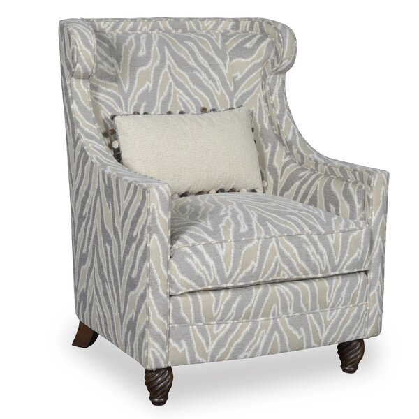 Estancia Wing back Chair by World Menagerie