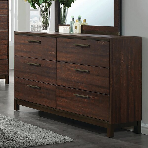 Velma 6 Drawer Double Dresser By Union Rustic