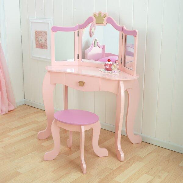 Princess Vanity Set with Mirror by KidKraft