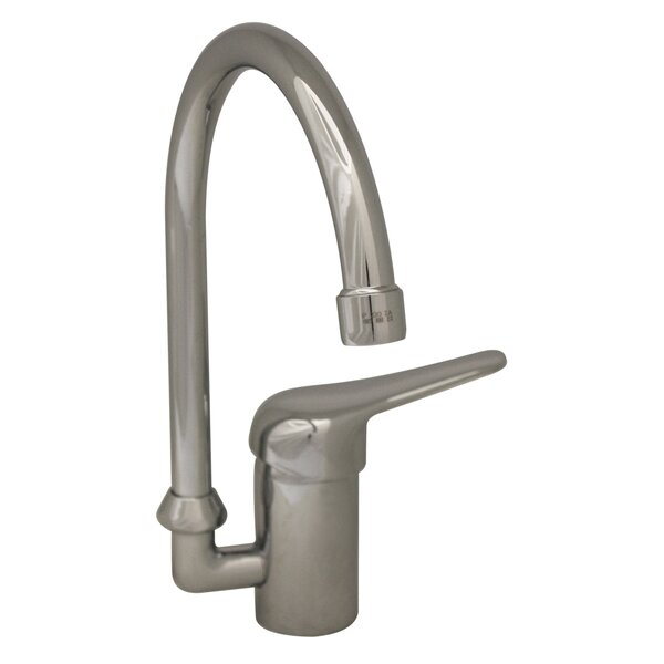 Flamingo II Single Handle Kitchen Faucet with Side Spray by Whitehaus Collection