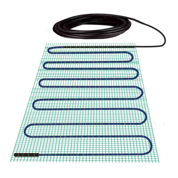 TempZone 120V Underfloor Heating System Kit By WarmlyYours