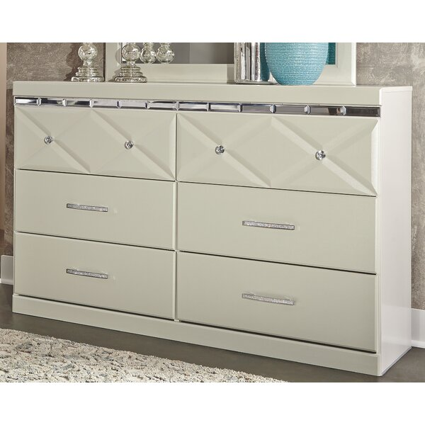 Wylie 6 Drawer Double Dresser by Willa Arlo Interiors