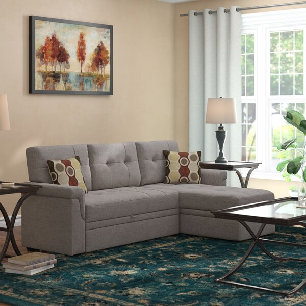 Platte Right Hand Facing Sleeper Sectional By Winston Porter