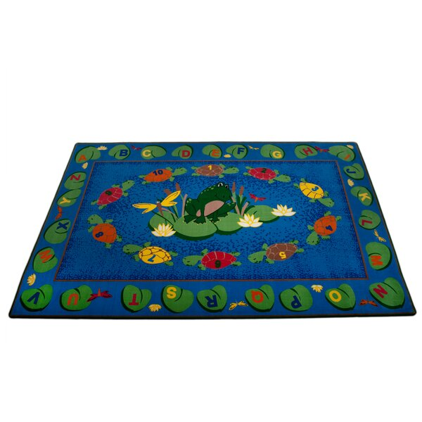 Turtle Circle Time Area Rug by Kid Carpet