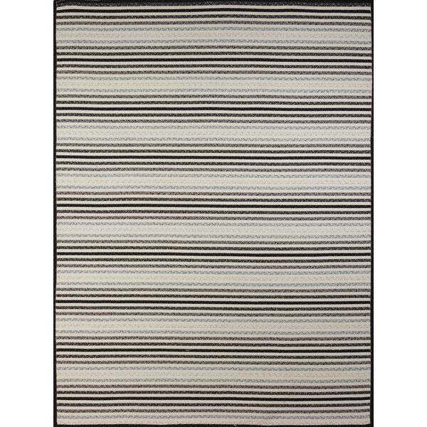 Dunlar White-Gray Indoor/Outdoor Area Rug by Highland Dunes