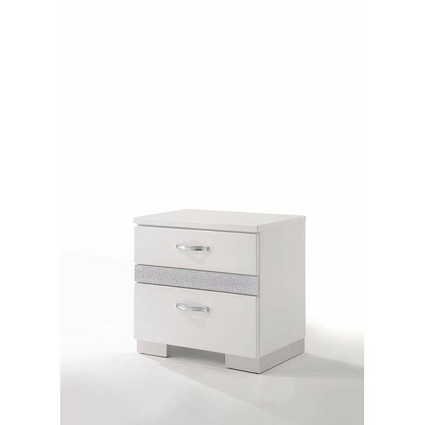 Bannerdown 2 Drawer Nightstand by Orren Ellis