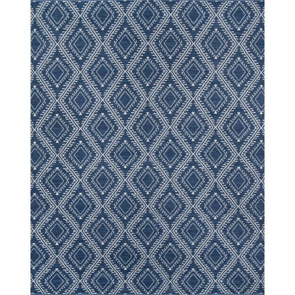 Easton Pleasant Hand-Woven Navy Indoor/Outdoor Area Rug by Erin Gates by Momeni