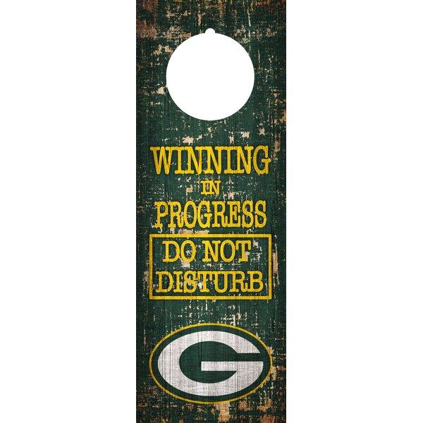 NFL Door Hanger Wall Décor by Fan Creations