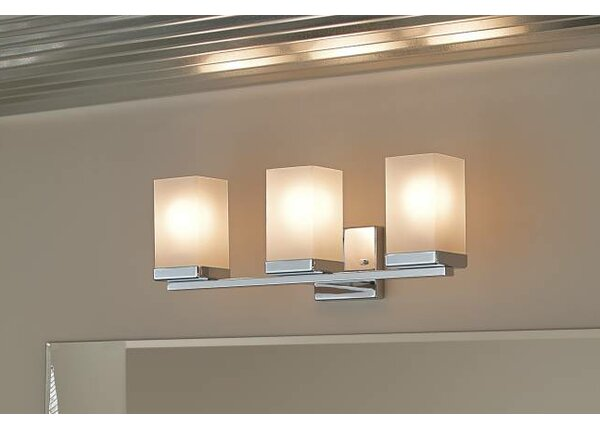 90 Degree 3-Light Vanity Light by Moen