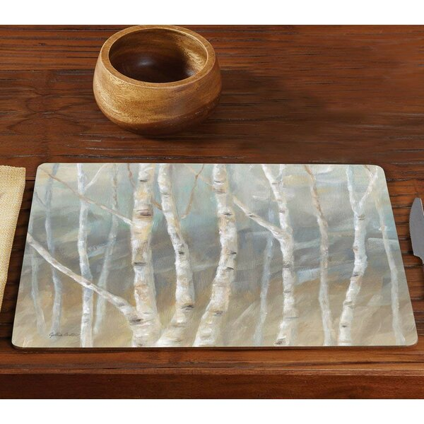 Longwell Birch Hardboard 15.75 Placemat (Set of 2) by Winston Porter