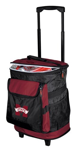 Collegiate Rolling Cooler - Mississippi State by Logo Brands