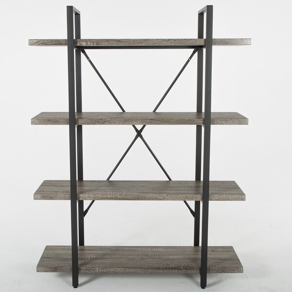 Ranck 4-Tier Etagere Bookcase By Union Rustic