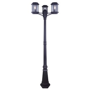 Check Prices Rickards 3-Light 78.5 Post Light By Charlton Home