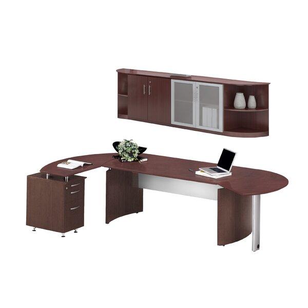 Medina Series 2-Piece Standard Desk Office Suite by Mayline Group