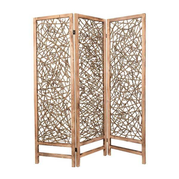 Baldy 3 Panel Room Divider by Screen Gems